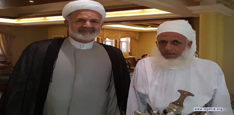 مفتی عام سلطنة عمان یؤكد اهمیة مؤتمر الوحدة الاسلامیة بطهران