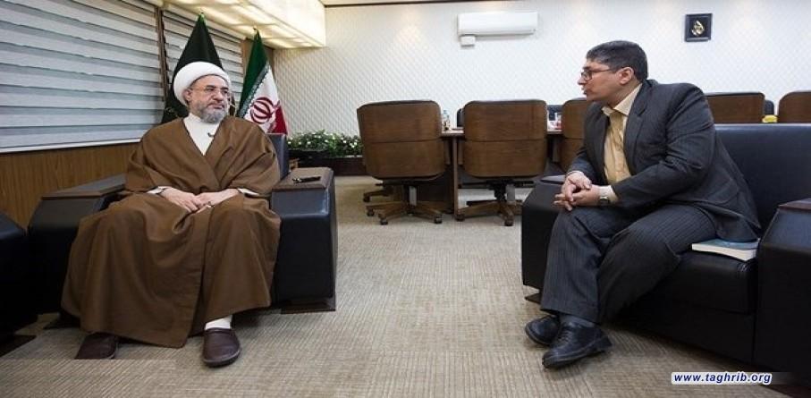 اية الله الاراكي: سيعقد المؤتمر رغم محاولات سفارات اميركا والسعودية والكيان الصهيوني