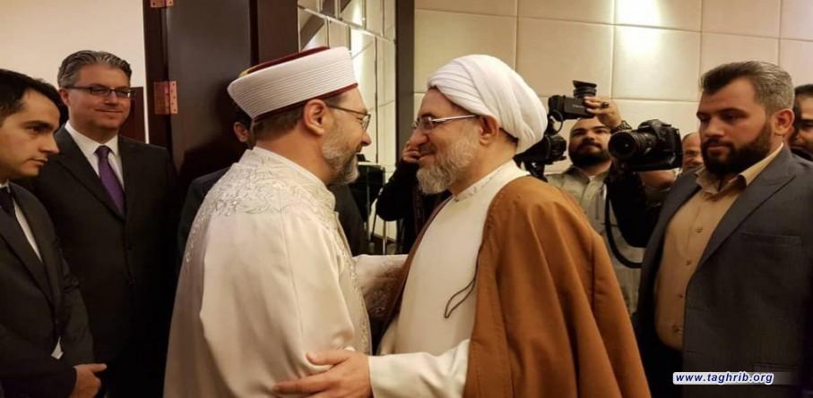 ارباش يشكر اية الله الاراكي لدعوته زيارة طهران