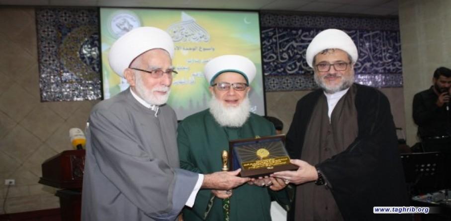 تجمع العلماء المسلمين يقيم احتفالا بمناسبة ذكرى المولد النبوي الشريف واسبوع الوحدة الاسلامية