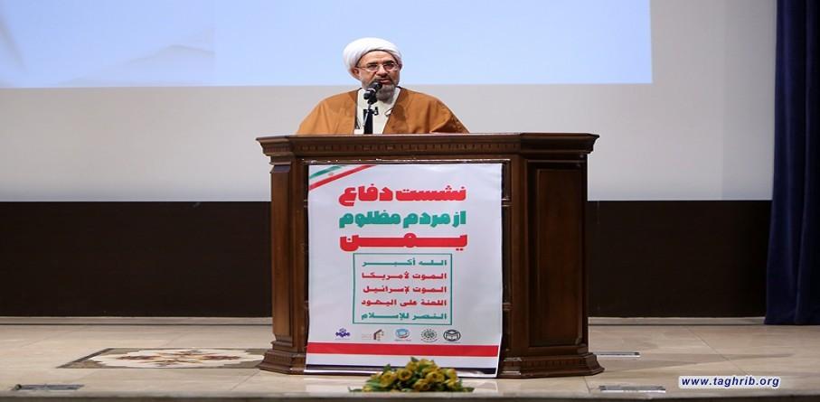 آية الله الاراكي: فضائع اليمن هي ذبح للاديان والانسانية والايمان + صور