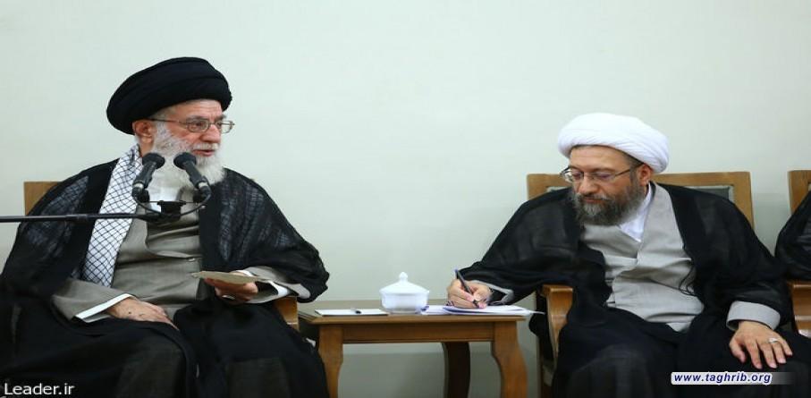الامام الخامنئي يعين آملي لاريجاني رئيسا لمجمع تشخيص مصلحة النظام