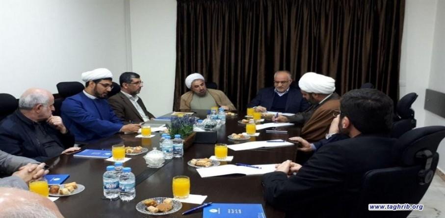 جامعة المذاهب الاسلامية في ايران نموذج علمي وعملي للتعايش السلمي بين أتباع المذاهب