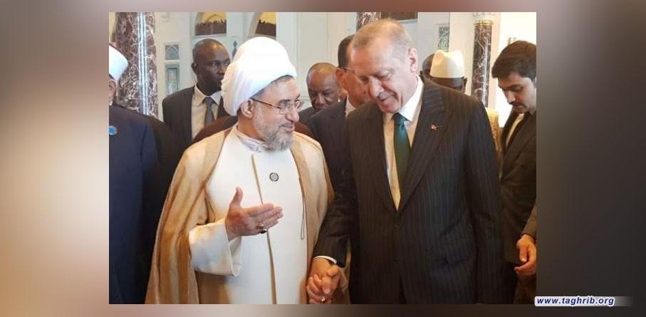 آية الله الأراکي يؤکد علی الوحدة الإسلامية ووعي المسلمين