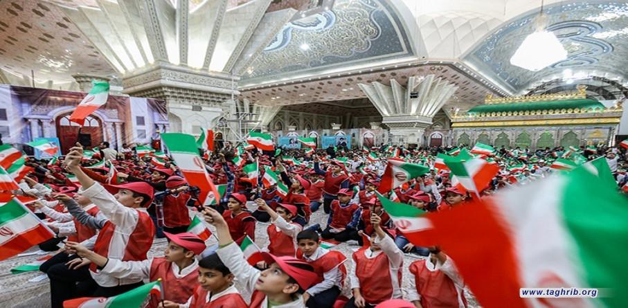 مراسم يوم الله 12 بهمن في مرقد الامام الخميني الراحل (قدس)