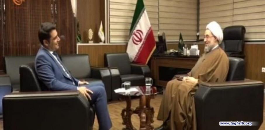 الشيخ الاراكي للميادين : هدف مؤتمرات الوحدة معالجة التحديات التي تواجه الامة الاسلامية