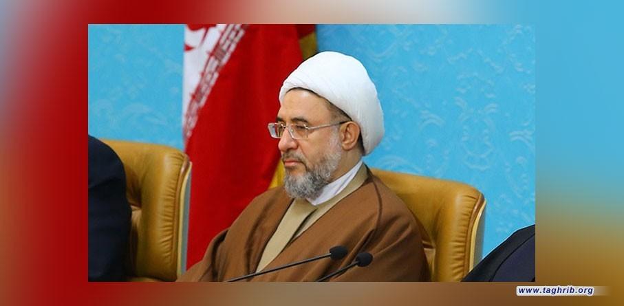 اية الله الاراكي يشكر القيادي في حماس على موقفه الداعم لحرس الثورة