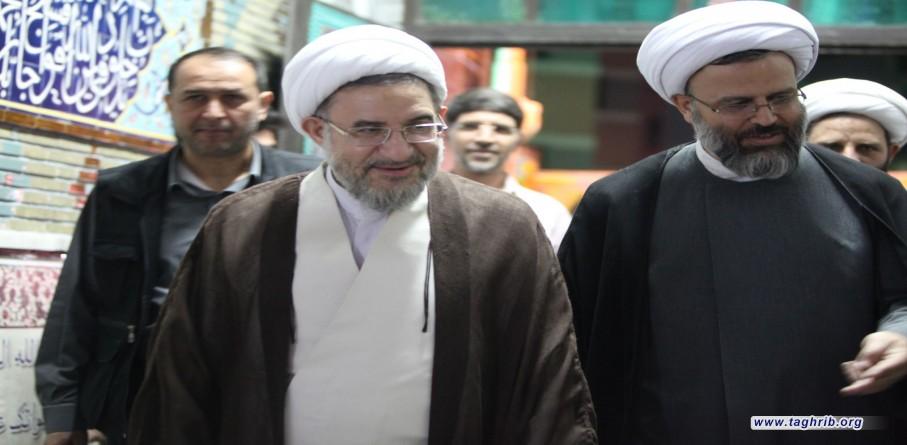 مسجد لولاگر توسط آیت الله اراکی افتتاح شد+ تصاویر