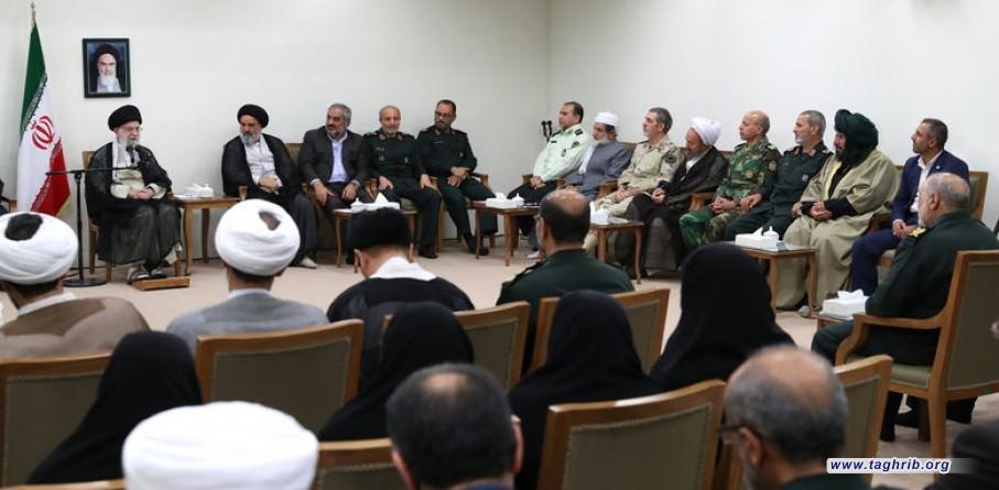 لقد أحبط الأكراد بخدمتهم للثورة الإسلامية مؤامرات بث التفرقة القومية والطائفية + صور