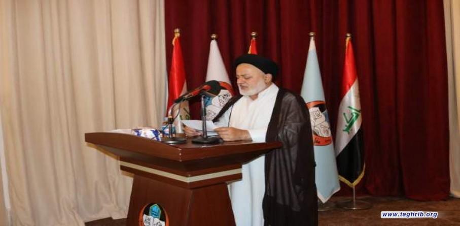 السيد كاظم الجابري يثني على تغطية وكالة التقريب للمؤتمر الفكري الدولي في الموصل