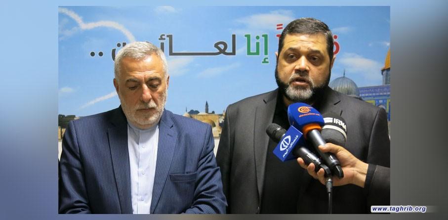 اسامة حمدان : علاقات حماس بايران اخذت منحا جديدا