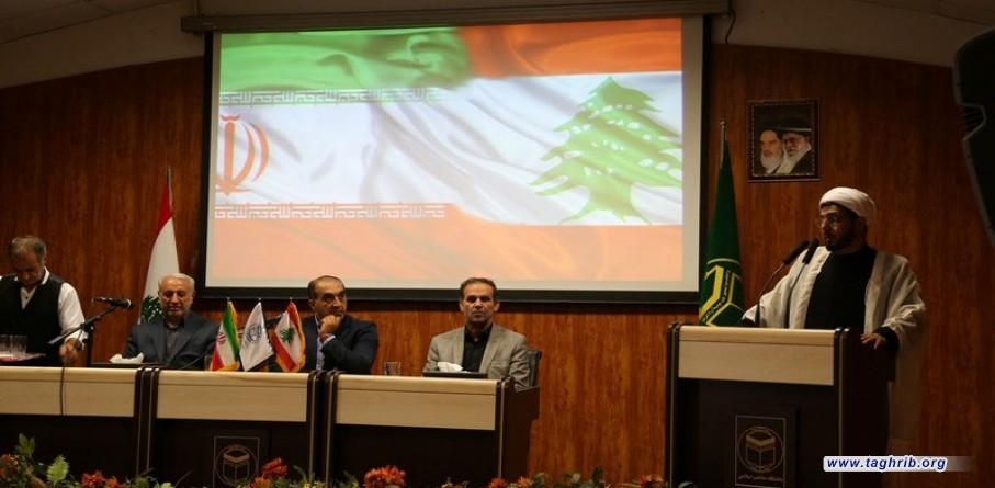 حضور وفد اساتذة الجامعات اللبنانیه في جامعة المذاهب الإسلامية
