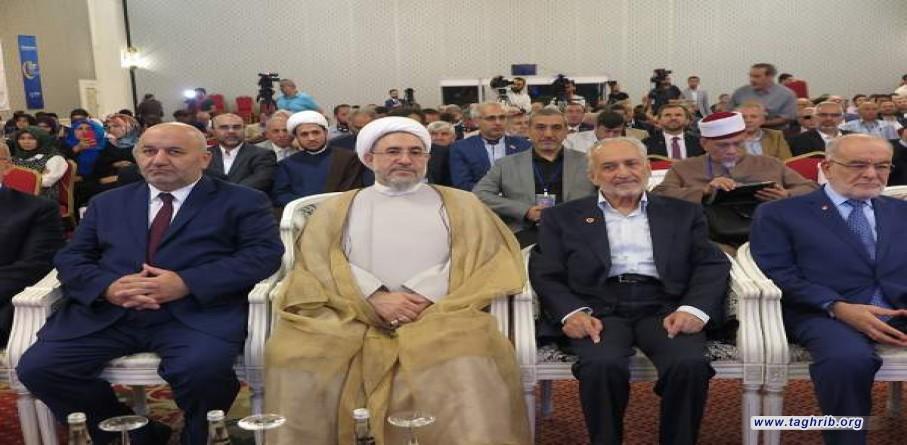 اية الله الاراكي :المسلمون قادرون أن يصبحوا القوة الأولى بالعالم