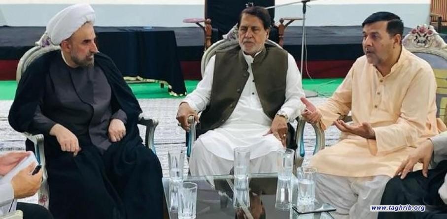 """التحقیق فی مجالات التعاون بين جامعة SGC وجامعة """"comsats"""" الباكستانية مع الدكتور مختاري رئیس جامعة المذاهب الإسلامية"""