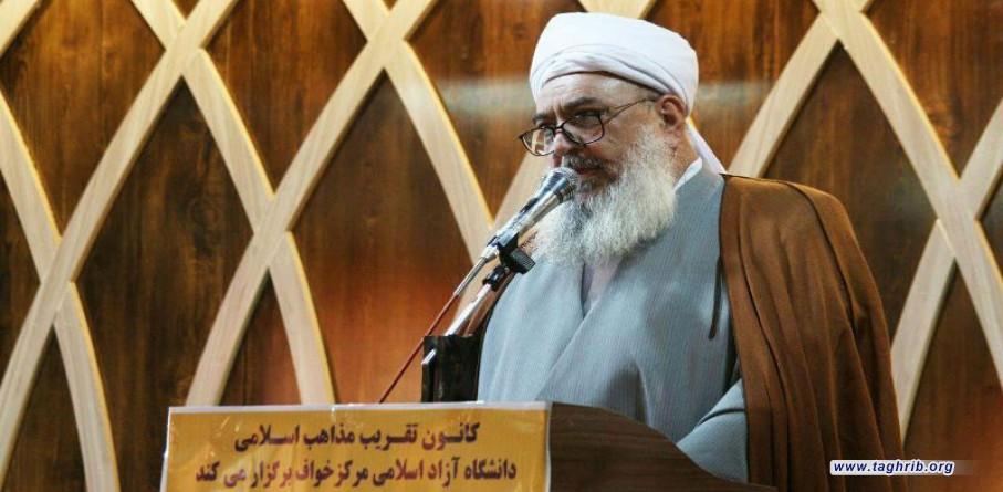 مدير الحوزة العلمية لاهل السنة: الوحدة ضرورة لمواجهة أعداء الإسلام