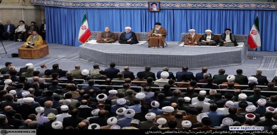 قائد الثورة الاسلامية: موقف ايران من قضية فلسطين حاسم ومبدئي