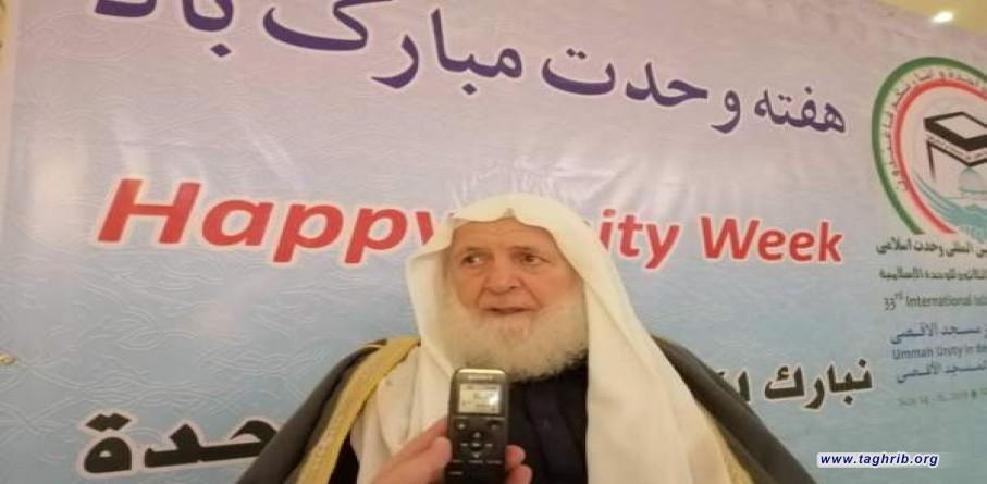 رئيس المجلس الإسلامي الفلسطيني في لبنان: وفقنا الله في مؤتمر الوحدة الإسلامية لأمور تُحمد عقباها