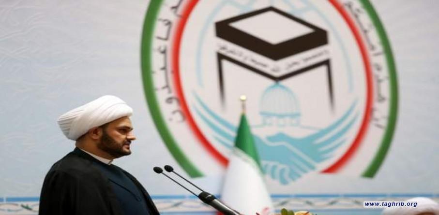 الشيخ الكعبي : ينبغي العمل من أجل تجاوز هذه الأزمات في العالم الاسلامي والتركيز على الوحدة الاسلامية