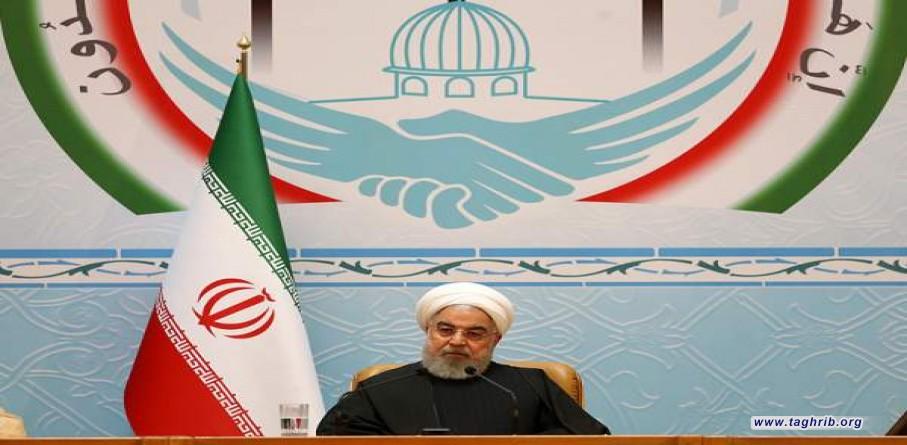 رئیس جمهور در مراسم افتتاحیه کنفرانس وحدت:فلسطین از موضوع اول جهان اسلام خارج نخواهد شد/دوست دانستن آمریکا خطای استراتژیک است