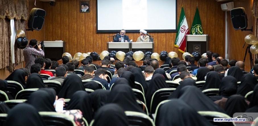 أمين عام الأكاديميات الإسلامية الإيرانية في حفل يوم الطالب: يجب أن يكون الطلاب حساسين تجاه قضايا البلد / طلاب جامعة المذاهب الإسلامية نواب الوحدة لديهم مهمة كبيرة
