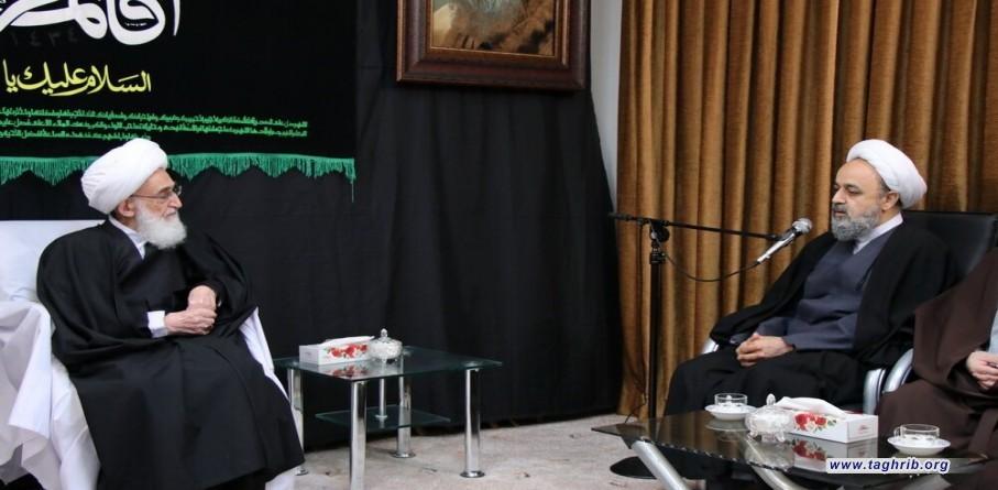 المرجع آية الله نوري همداني يؤكد أهمية المناظرات بين علماء التقريب