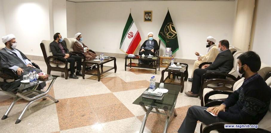 دکتر شهریاری: مسئولیت مرکز رسانه و فضای مجازی حوزه سنگین است + تصاویر