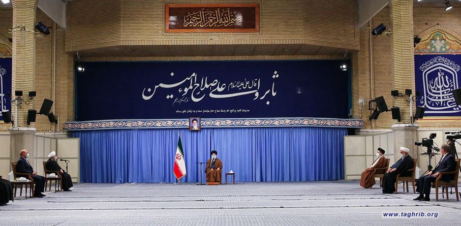 جلسه شورایعالی هماهنگی اقتصادی در حضور رهبر معظم انقلاب اسلامی