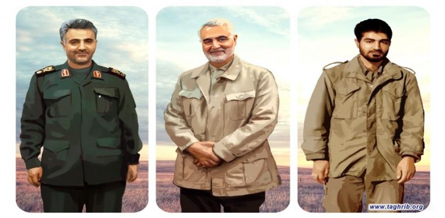 مقتطفات من كلمة الامام الخامنئي في لقاء القائمين على مراسم ذكرى استشهاد قادة النصر
