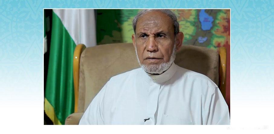 الدكتور محمود الزهار: الجمهورية الإسلامية سلّحت غزة بالصواريخ وفق التعاليم القرآنية