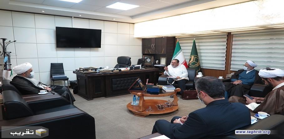 """الدكتور شهرياري : الأمة الواحدة يمكن أن تتشكل بعنوان """"اتحاد الدول الإسلامية"""""""