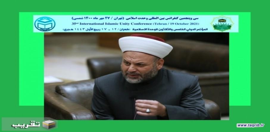 الشيخ الشحيمي: التوترات الطائفية أنتجتها الغرف الأميركية والصهيونية