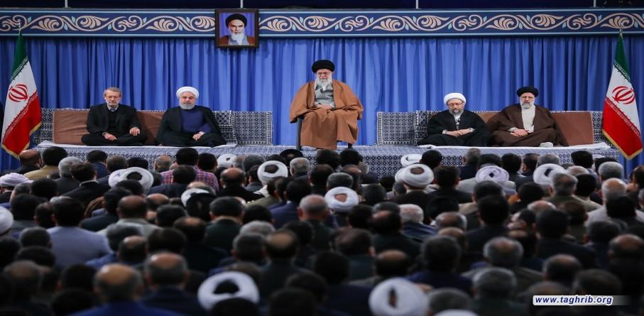 لقاء سفراء البلدان الإسلامية ومسؤولي النظام بمناسبة حلول ذكرى المبعث النبوي الشريف