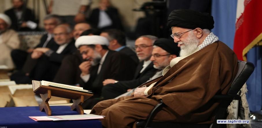محفل الأنس بالقرآن الكريم بمشاركة الإمام الخامنئي