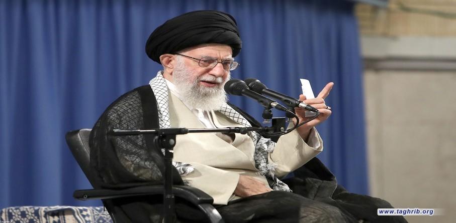 دیدار رئیس، مسئولان و کارکنان قوه قضاییه با رهبر معظم انقلاب اسلامى