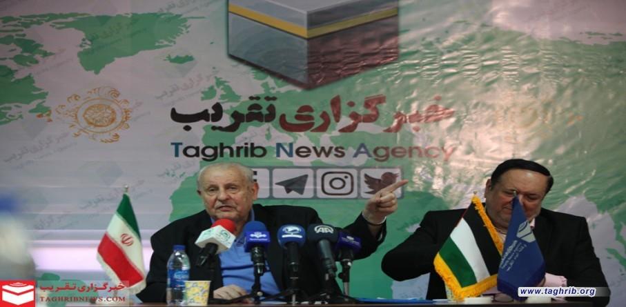 المؤتمر الصحفي لسفير فلسطين في وكالة أنباء التقريب