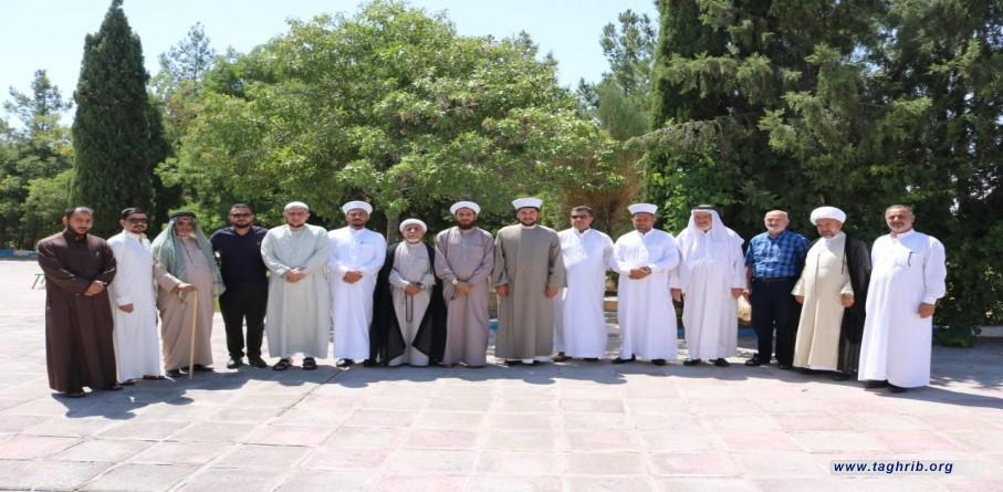 وفد من علماء العراق يزور الجمهورية الإسلامية الإيرانية