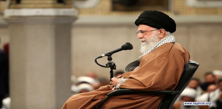لقاء حشد من التعبويّين بالإمام الخامنئي