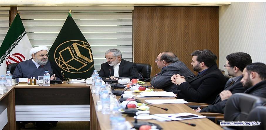 الامين العام للمجمع العالمي للتقريب بين المذاهب الاسلامية يلتقي مع مساعد المجلس التنسيقي في منظمة الاعلام الإسلامي