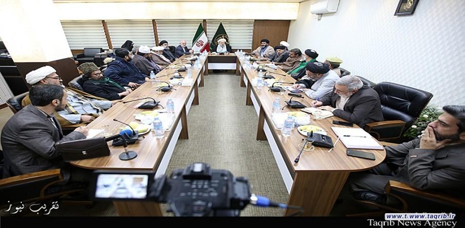 لقاء الأمين العام لمجلس وحدة المسلمين في باكستان مع الأمين العام للمجمع العالمي للتقريب بين المذاهب الإسلامية