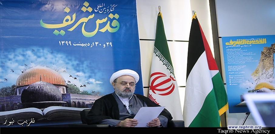 سخنرانی دبیر کل مجمع تقریب مذاهب اسلامی در دومین روز کنگره بینالمللی قدس شریف