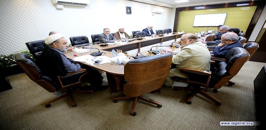 نشست اتحادیه خیرین جهان اسلام با دبیر کل مجمع تقریب مذاهب اسلامی