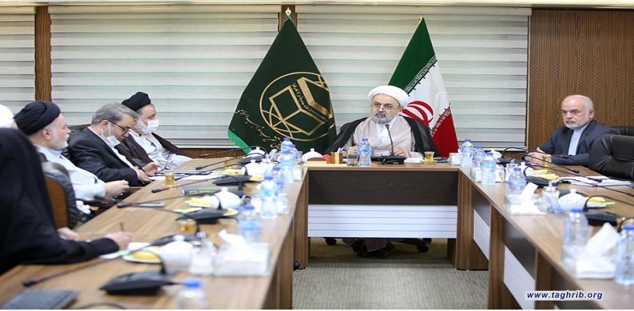 اجتماع شورى معاونين مجمع التقريب مع الأمين العام الدكتور شهرياري