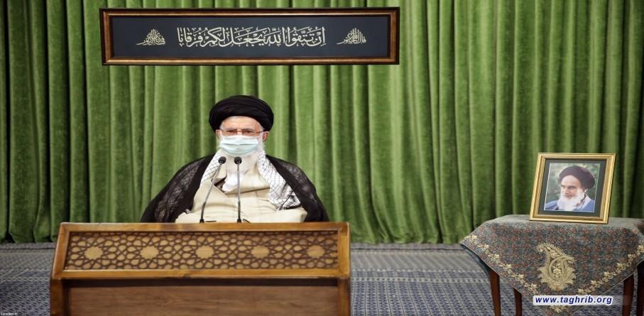 ارتباط تصویری رهبر معظم انقلاب با نمایندگان یازدهمین دوره مجلس شورای اسلامی
