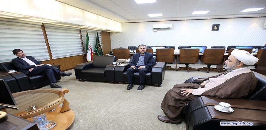 دیدار رایزن فرهنگی ایران در یونان با دبیر کل مجمع تقریب مذاهب اسلامی