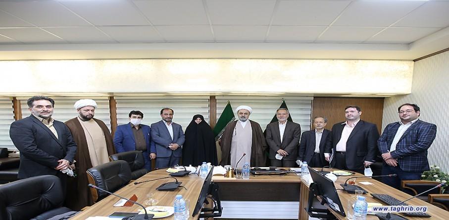 لقاء رابطة كتّاب وشعراء التقريب مع الأمين العام الدكتور شهرياري