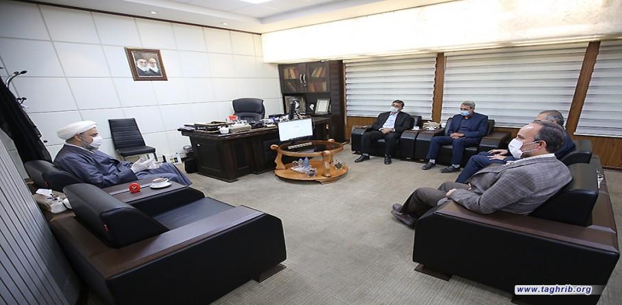 """حجة الاسلام والمسلمين الدكتور """" حميد شهرياري"""" يستقبل اعضاء من مجلس شورى الاسلامي"""