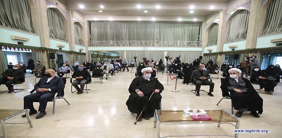 مراسم ترحیم دبیرکل اتحادیه جهانی زنان مسلمان