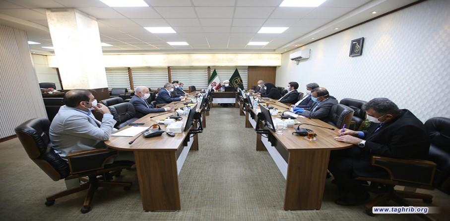 لقاء الأعضاء السنة في مجلس الشورى الاسلامي مع الأمين العام الدكتور حميد شهرياري
