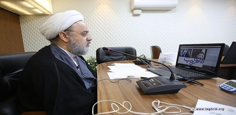"""حجة الاسلام والمسلمين الدكتور """"حميد شهرياري"""" يبحث مع فضيلة الشيخ زهير الجعيد"""