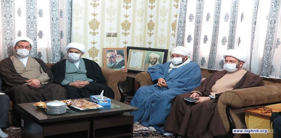 لقاء الأمين العام الدكتور شهرياري مع عائلة المرحوم ماموستا ملا عبد الله غفوري